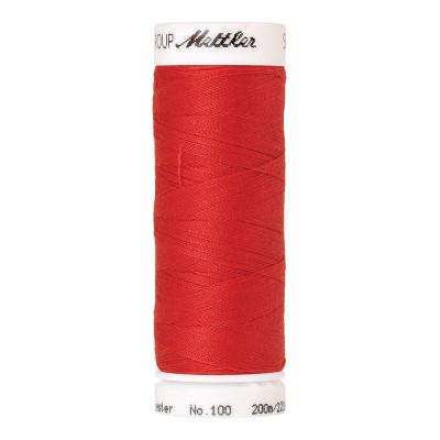 Fil à coudre Mettler Seralon 200m n°104 Rouge Pomme