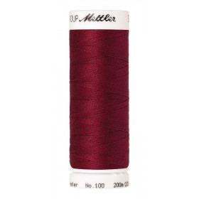 Fil universel Rouge Bordeaux METTLER SERALON, bobine de 200 M - Mercerie