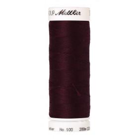 Fil universel Rouge Betterave METTLER SERALON, bobine de 200 M - Mercerie