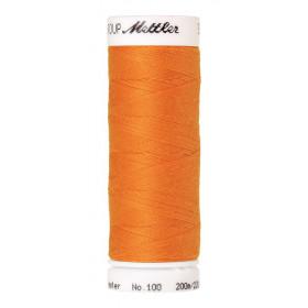 Fil universel Orange Citrouille METTLER SERALON, bobine de 200 M - Mercerie