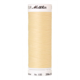Fil universel Vanille METTLER SERALON, bobine de 200 M - Mercerie