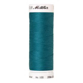Fil universel Bleu Océan METTLER SERALON, bobine de 200 M - Mercerie
