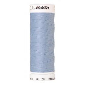 Fil universel Bleu Clair METTLER SERALON, bobine de 200 M - Mercerie