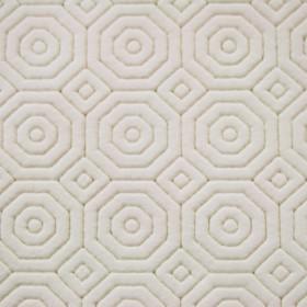 Sous nappe de protection qualité luxe Blanc 135 cm - Le mètre - Tissus ameublement