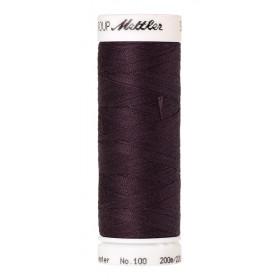 Fil universel Violet ancolie METTLER SERALON, bobine de 200 M - Mercerie