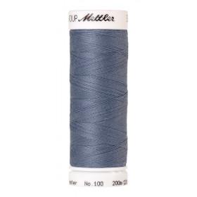 Fil universel Bleu Baleine METTLER SERALON, bobine de 200 M - Mercerie