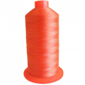 Bobine de fil Orange SERAFIL N°30 - 4000 ml - 449 - Mercerie