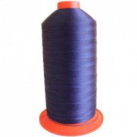 Bobine de fil Bleu Marine SERAFIL N°30 - 4000 ml - 825 - Mercerie