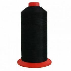 Bobine de fil Noir SERAFIL N°40 - 5000 ml - 4000 - Mercerie
