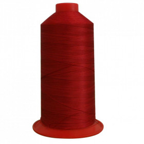 Bobine de fil Rouge SERAFIL N°40 - 5000 ml - 504 - Mercerie
