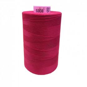 Bobine de fil SABA N°80 - Fushia-1392-5000ml - Mercerie