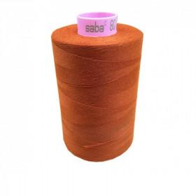 Bobine de fil SABA N°80 -Rouille-163-5000ml - Mercerie