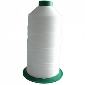 Bobine de fil ONYX N°10 Blanc 1000 - 1500 ml - Mercerie