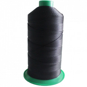 Bobine de fil ONYX N°10 Noir 4000 - 1500 ml - Mercerie