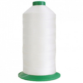 Bobine de fil ONYX N°13 (31) Blanc - 1000 - 1500 ml - Mercerie