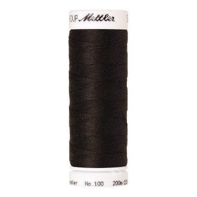 Fil à coudre Mettler Seralon 200m n°1175 Noir