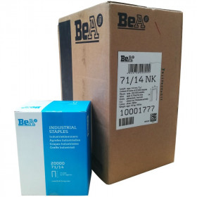 Carton de 8 boites Agrafes type 71 BEA 14mm - Par 20 000 - Fournitures tapissier