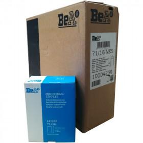Carton de 14 boites Agrafes type 71 BEA 16mm - Par 12 000 - Fournitures tapissier