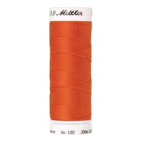 Fil universel Orange METTLER SERALON, bobine de 200 M - Mercerie
