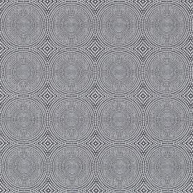 Tissu Kateri - Collection Spirit Weaves - Charcoal en 136 cm - Tissus ameublement