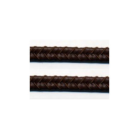 Double tresse 10mm<br>Imitation cuir