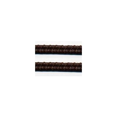 Double tresse 10mm le mètre imitation cuir