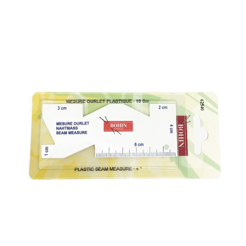Somomètre (Mesure ourlets) BOHIN 10 cm - Mercerie
