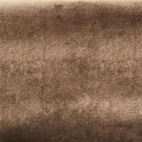 Froca - Brunei 11 Brun cuir, au mètre - Tissus ameublement