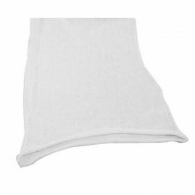 Chaussette sitinette blanche 35 cm coton, le mètre - Fournitures tapissier