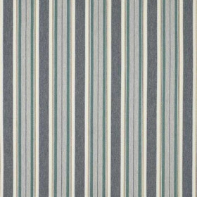 Tissu Camengo - Collection Windsor - William Bleu Canard - 139cm - Tissus ameublement