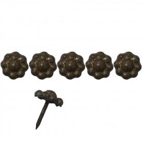 """1000 clous tapissiers \\""""Ivry\\"""" Bronze doré 12 mm - marguertie - Clous tapissier"""