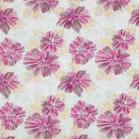 Tissu Camengo - Collection Bonheur - Bonheur Fuschia - 129cm - Tissus ameublement