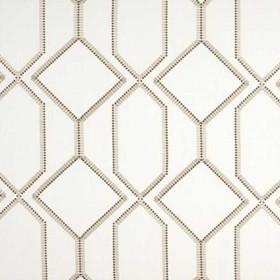 Tissu Camengo - Collection Beauregard - Bastion Taupe - 134cm - Tissus ameublement