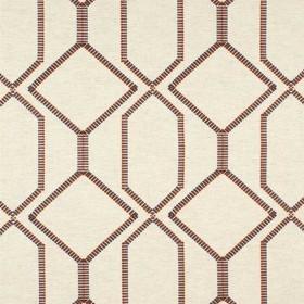 Tissu Camengo - Collection Beauregard - Bastion Parme - 134cm - Tissus ameublement