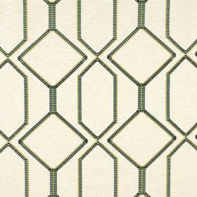 Tissu Camengo - Collection Beauregard - Bastion Vert - 134cm - Tissus ameublement