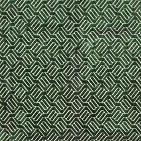 Tissu Camengo - Collection Beauregard - Douves Vert - 140cm - Tissus ameublement