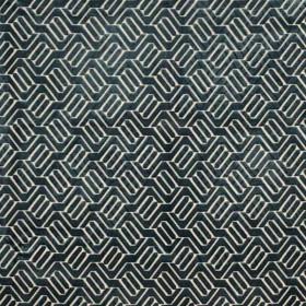Tissu Camengo - Collection Beauregard - Douves Bleu - 140cm - Tissus ameublement