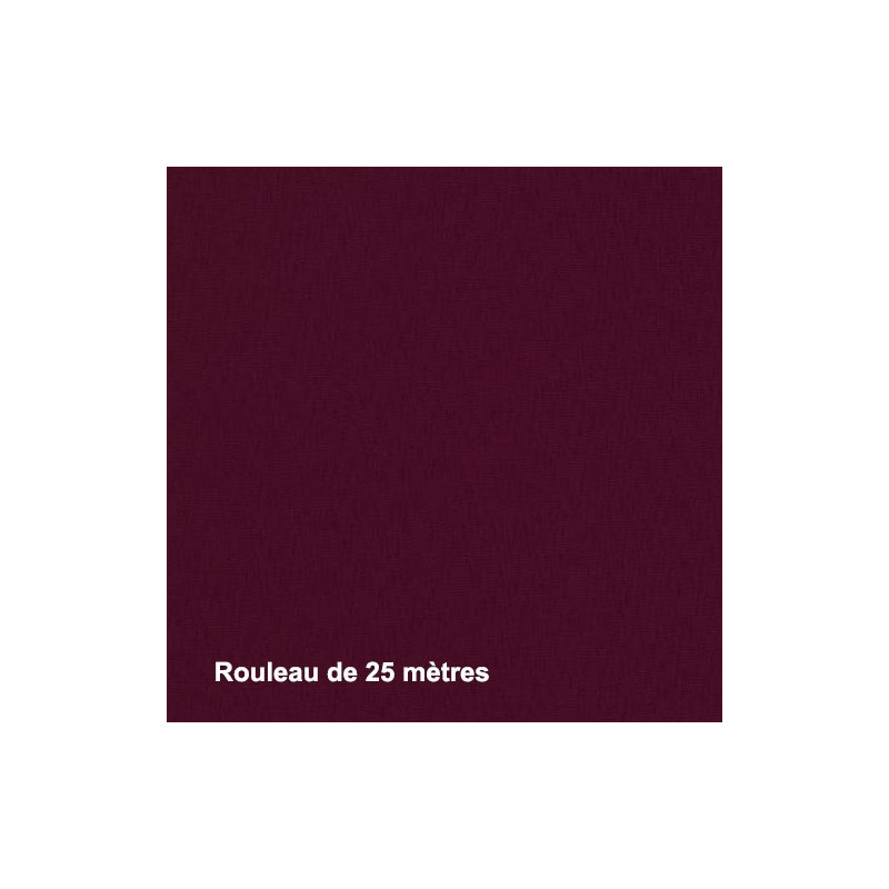 Tissu Noctis Cassis Non Feu 300g/m², Rouleau de 25m - Tissus ameublement