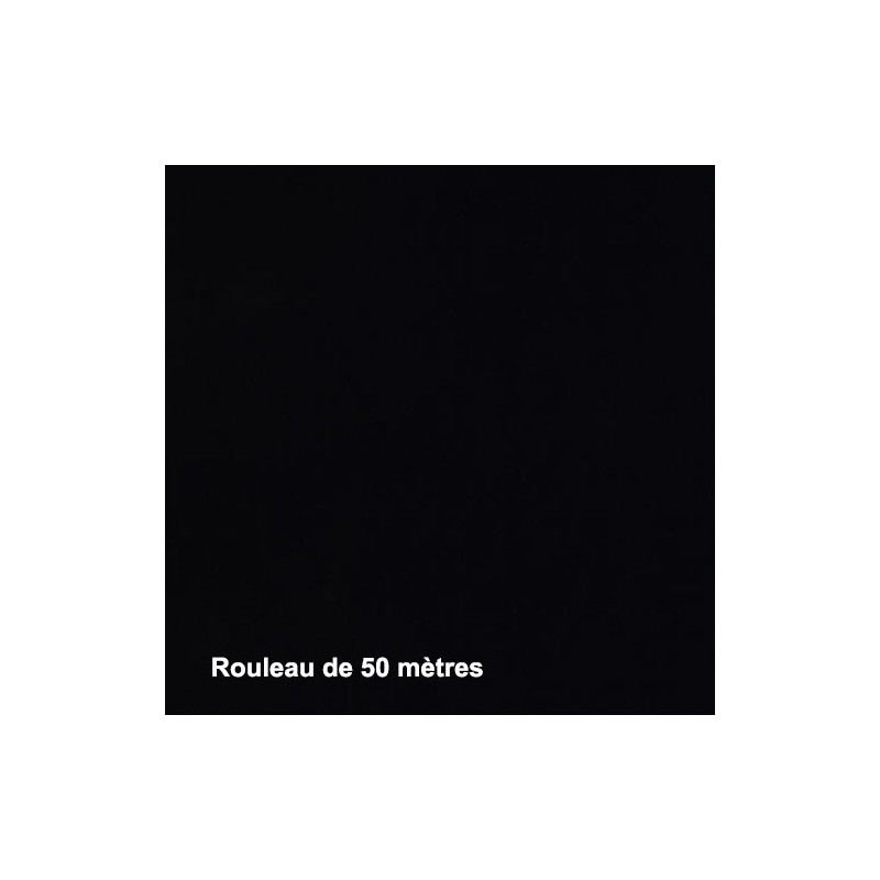 Tissu Noctis Noir Non Feu M1 270g/m2, Rouleau de 50m - Tissus ameublement