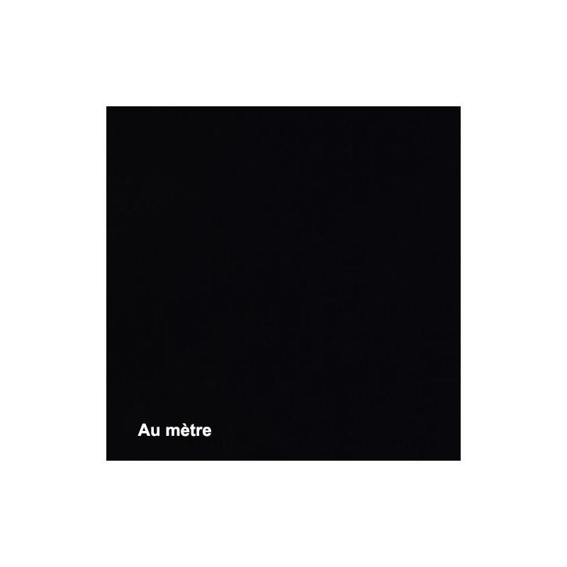 Tissu Noctis Noir Non feu M1 270g/m², Au mètre - Tissus ameublement