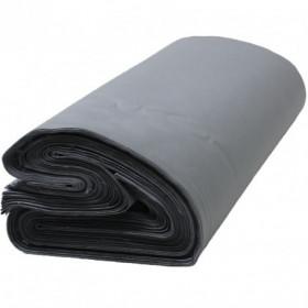 Toile jaconas gris qualité supérieure 150 cm dossé plié, les 50 mètres - Fournitures tapissier