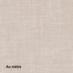 Voilage Polyester Non Feu Etel Lin, le mètre - Tissus ameublement