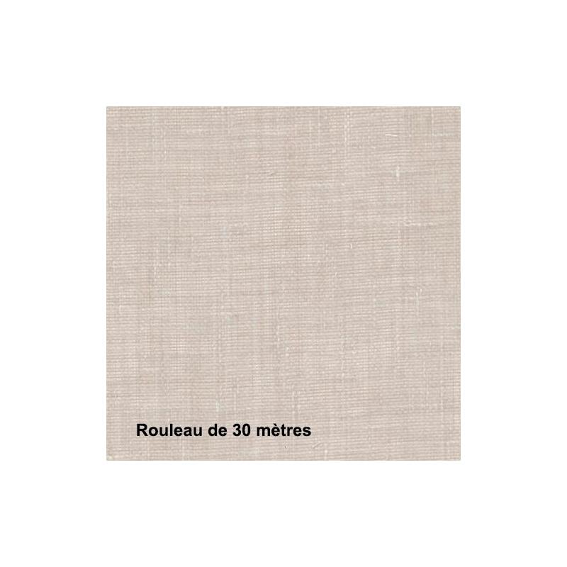 Voilage Polyester Non Feu Etel Lin, les 30 mètres - Tissus ameublement