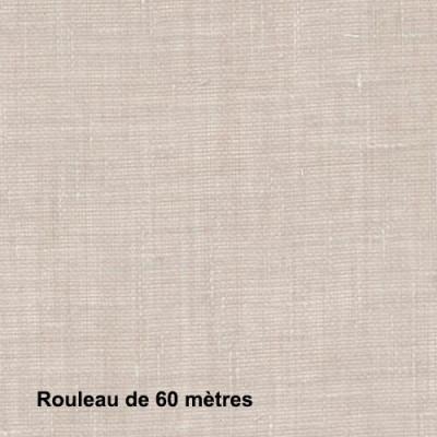 Voilage Polyester Non Feu Etel Lin, les 60 mètres - Tissus ameublement