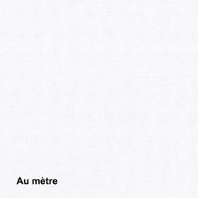 Tissu Sat120 Non Feu M1 120g/m2 Blanc, le mètre - Habillage de la fenêtre