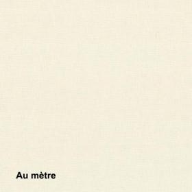 Tissu Sat120 Non Feu M1 120g/m2 Crème, le mètre - Habillage de la fenêtre