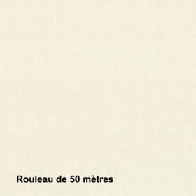 Tissu Sat120 Non Feu M1 120g/m2 Crème, pièce de 50M - Habillage de la fenêtre