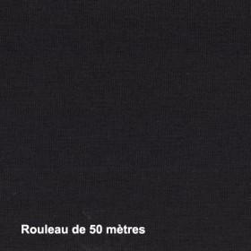 Tissu Sat120 Non Feu M1 120g/m2 Noir, pièce de 50M - Habillage de la fenêtre