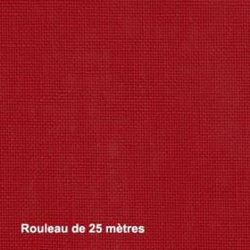 Tissu Linosa Non Feu M1 Rouge 280 cm, les 25 mètres - Tissus ameublement