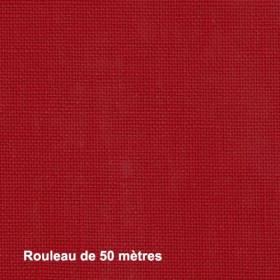 Tissu Linosa Non Feu M1 Rouge 280 cm, les 50 mètres - Tissus ameublement